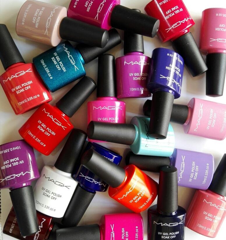 Esmaltes Uñas Magk Semipermanente Variedad De Colores