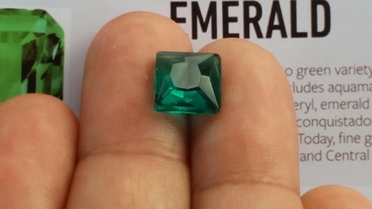f9a27b98e6e Esmeralda Lap  Princesa De 3.50 Quilates P  Jóias Crtd 0055. - R ...