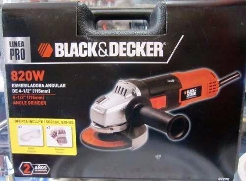 esmeril black and decker 41/2