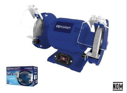 esmeril de banco 8 potencia 3/4hp 3550 rpm toolcraft  tc4471