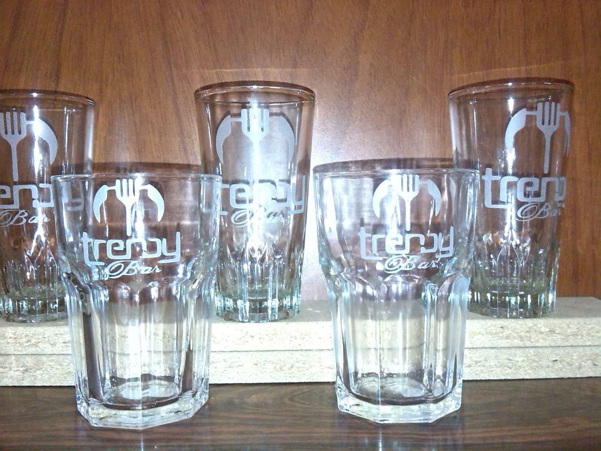 Esmerilado grabados en vidrio madera acrilico copas for Vasos copas vidrio
