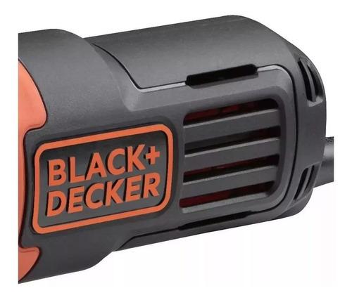 esmerilhadeira 4.1/2 g650 black&decker 110v + 5 discos