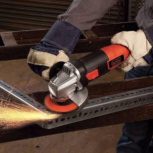 esmerilhadeira angular 4 1/2 g720 820w 110v black & decker