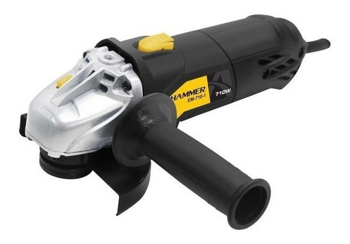 esmerilhadeira angular 710w 4.1/2 115mm hammer 220v em710