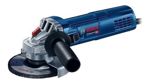 esmerilhadeira angular bosch professional gws 9-125 s azul 220v - 240v