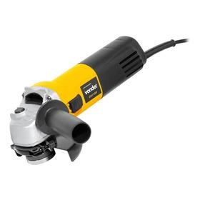 Esmerilhadeira Angular Vonder Eav 650 De 50hz/60hz Amarela 220v