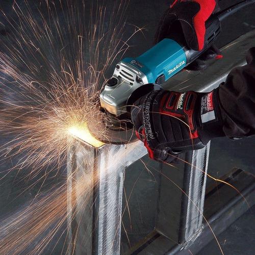 esmerilhadeira e lixadeira profissional makita 720w ga4530