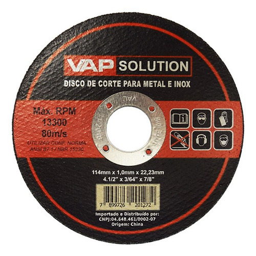 esmerilhadeira lixadeira 820w + 10 discos corte ferro grátis