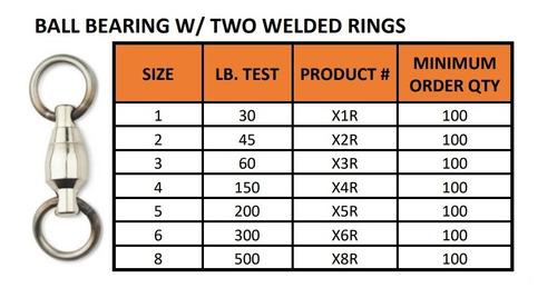 esmerillon a ruleman sampo nickel usa original x3r 60 lb