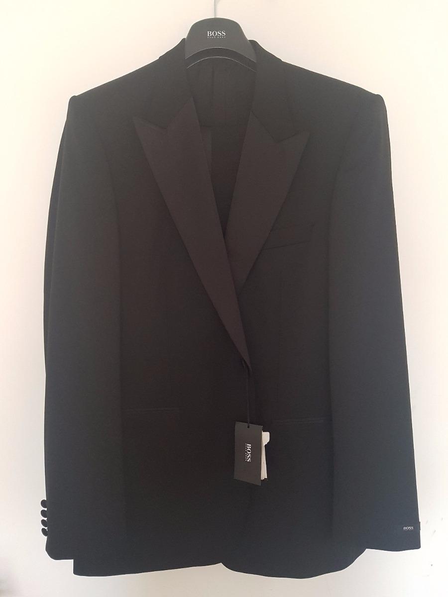 0989b3d3a0f Esmoquin Negro Hugo Boss Mod. Cary grant Us Talla 44 L ...