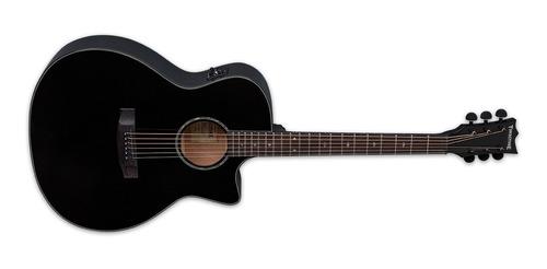 esp guitarra electroacustica tombstone a300bk