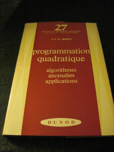 esp x8x program cuadratica/ matematica investig operativa