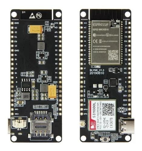 esp32 + sim800l módulo  sem fio antena gprs