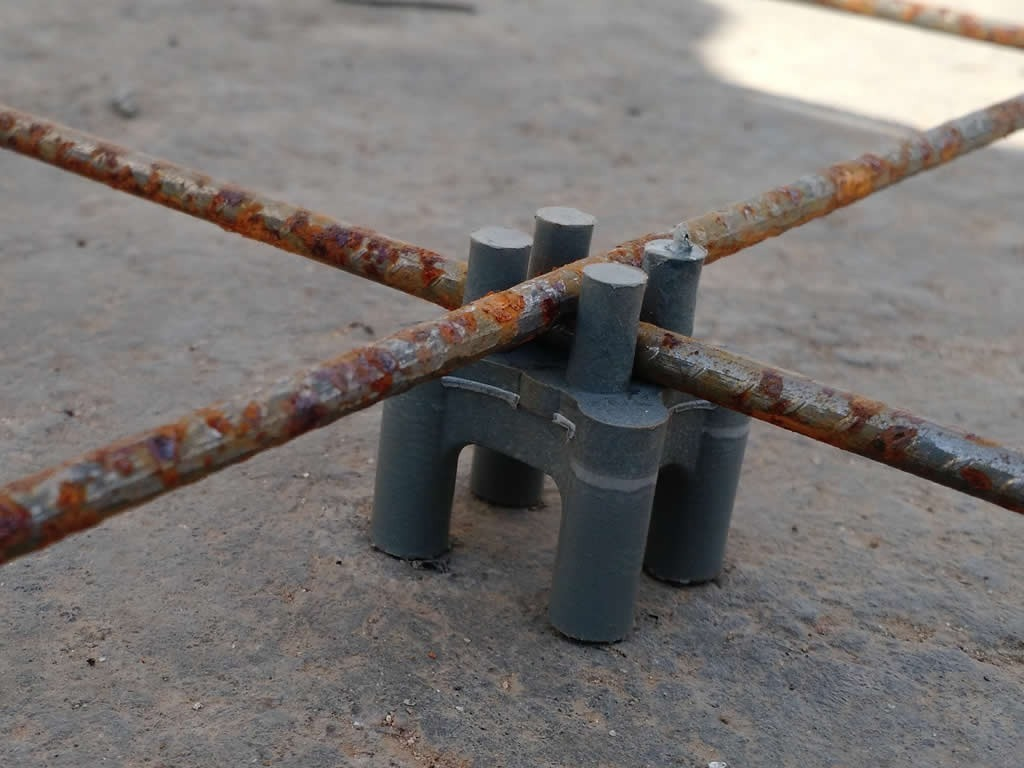 775c6acd8 Espaçador Tipo Pino Forma De Torre Ferragem Armação 1000 Pçs - R ...