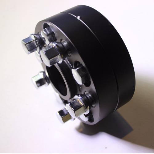 espaciadores adaptadores rin 5x100 aluminio aeroespacial