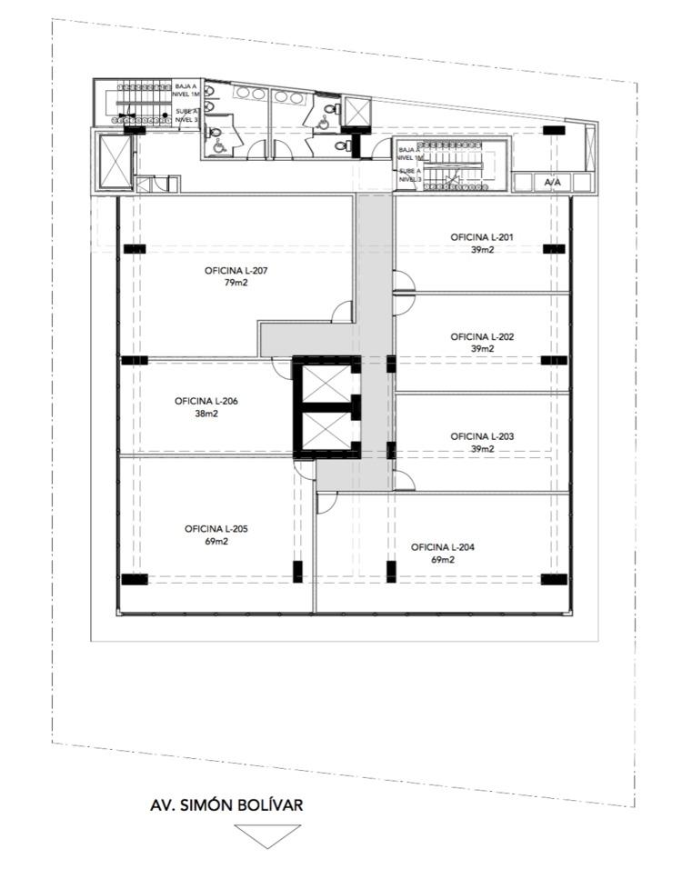 espacio de oficina de 83m2 en venta en la esperilla id 1275