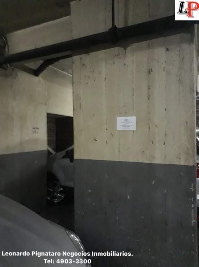espacio guardacoche fijo sobre avenida san juan en subsuelo