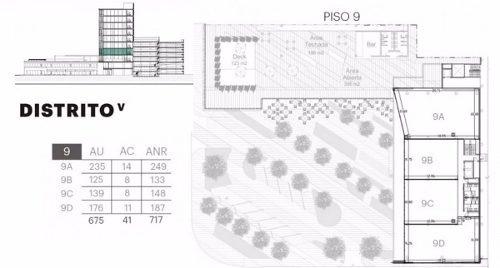 espacios de oficinas venta-renta-torre distrito v - saltillo, coahuila