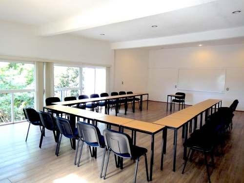 espacios para impartir cursos, talleres o capacitaciones