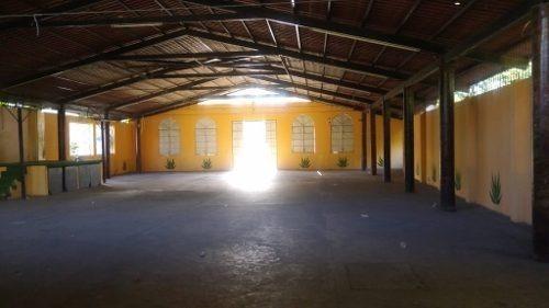 espacioso local en venta y renta en col. llano largo.
