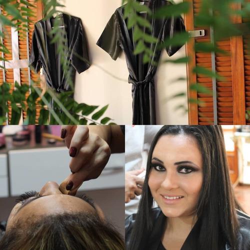 espaço maicon luz, cabelo e maquiagem, alçando sua beleza.