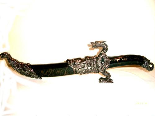 espada adaga dragão hk 5088 45 cms.