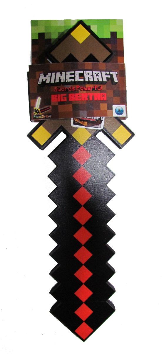Espada Big Bertha Minecraft Original - Dia Das Crianças ...