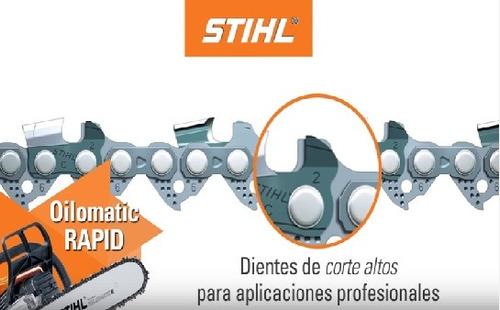 espada + cadena + piñon motosierra stihl ms381 382