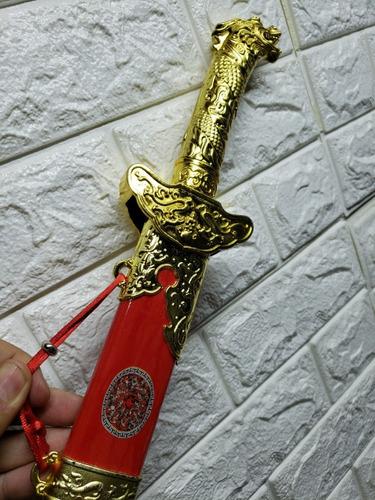 espada china dragon entrenar decor jugar dos colores 65cm
