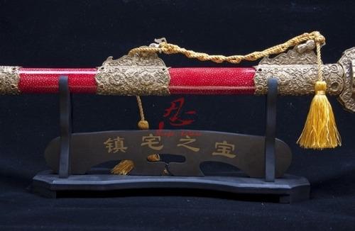 espada chinesa jian tradicional forjada na china certificado