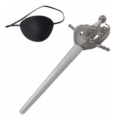 espada de juguete piratas del caribe parche moneda disney