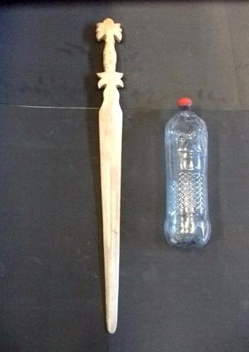 espada de pez espada, artesanía, colección.