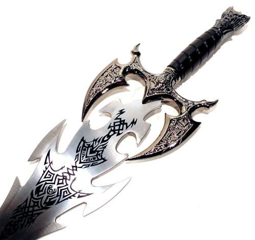 espada decorativa medieval mod 2919