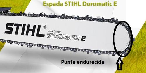 espada duro + cadena motosierra stihl ms381 382 460 461 63