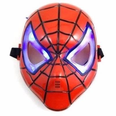 espada emite som e luz + máscara homem aranha