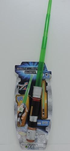 espada espacial extensible con luz y sonido space rre a8219