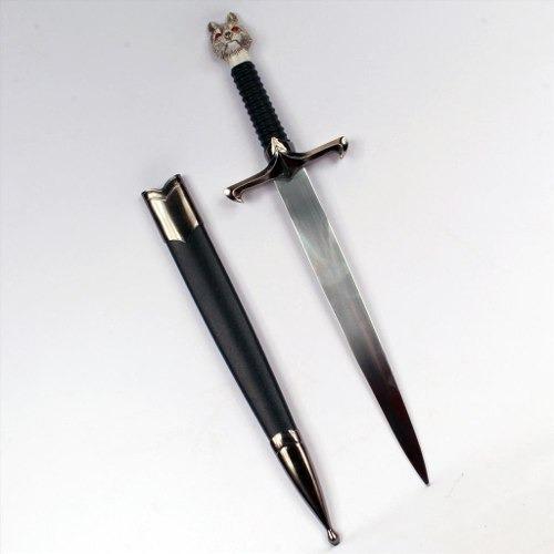 espada jon snow game of thrones miniatura enfeite bainha