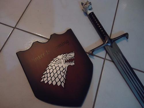 espada katana game of thrones jon snow cosplay medieval