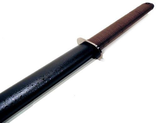 espada katana ninja turtle leonardo aço real reta