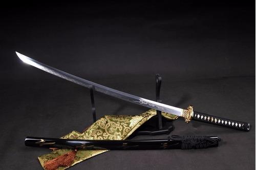 espada katana ryujin forjada aço damasco afiada tradicional