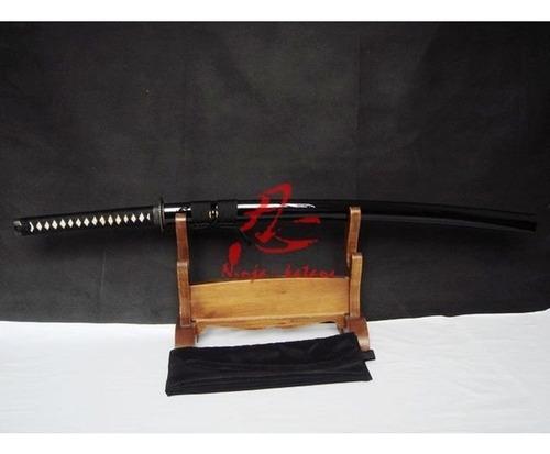 espada katana samurai afiada com corte aço carbono 1060