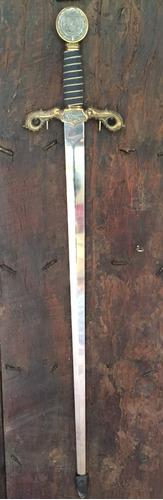 espada marto réplica de espada de cristóbal colón