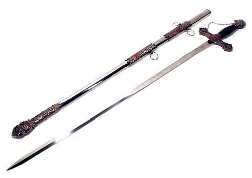 espada medieval maçonica templaria sb8854