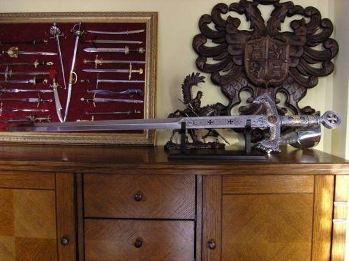 espada medieval templaria cruzadas toledo marto