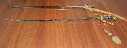 espada militar ecuatoriana colección