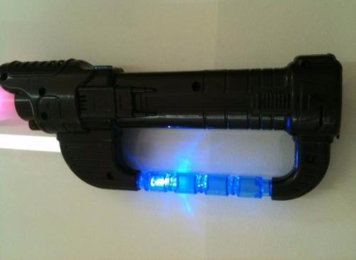 espada ninja com som e iluminação 30 unidades -  atacado