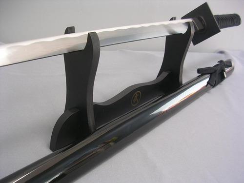 espada ninjato master shinobi 100% funcional c/ filo. katana