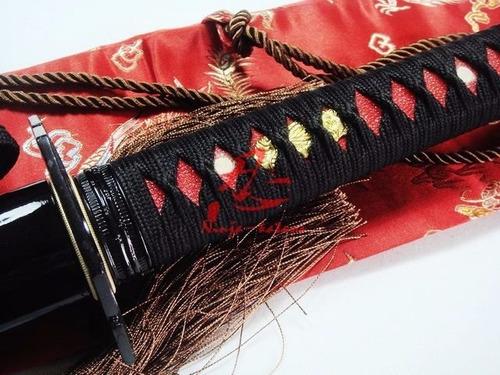 espada ninjutsu ninjato ninja shinobi com corte aço 1060