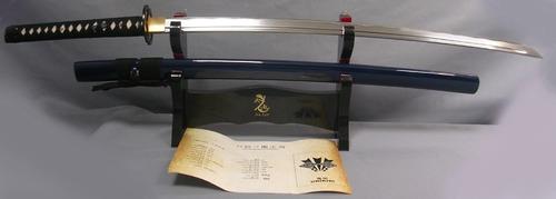 espada onikiri musashi fulltang c/filo hrc58 100% funcional
