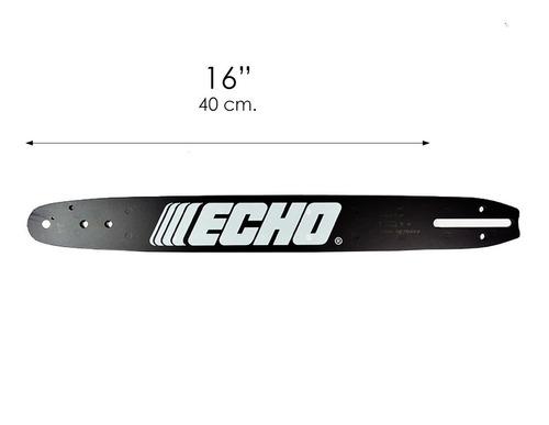 espada para motosierra 16'' 40 cm barra de repuesto echo